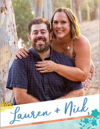 Lauren & Nick - waiting to adopt